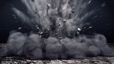 3ds Max - Creating Ground Explosion using Particle Flow and