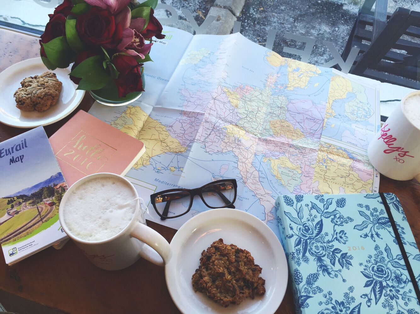 Travel Planning Over Coffee Tumblr Map Runaways Runaway - Travel europe from us map