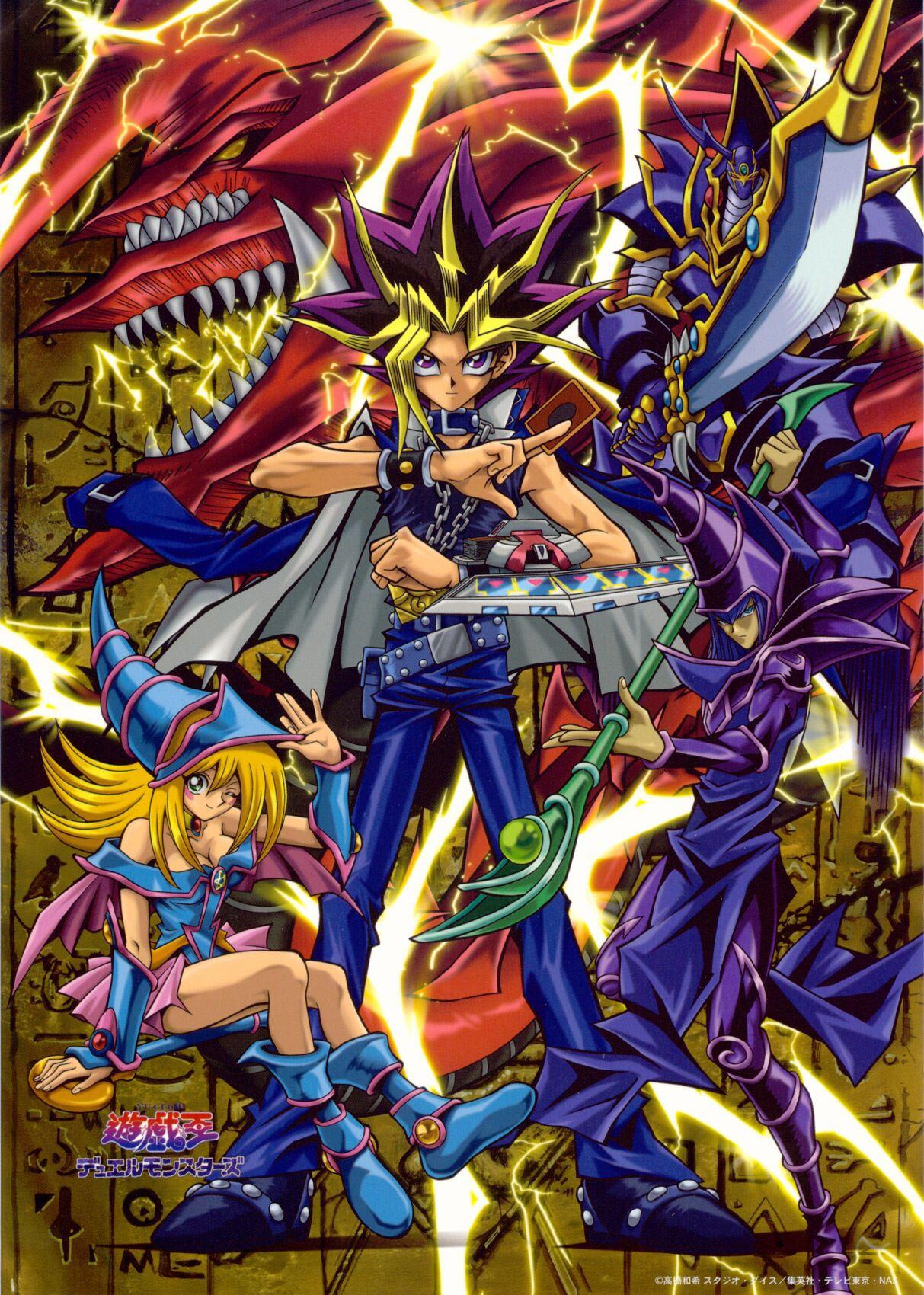 yami yugi slifer the sky dragon buster blader the dark magician