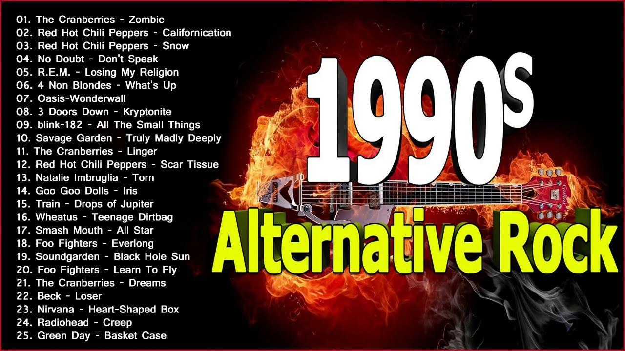 Best Of 90s Alternativerock Playlist Best Alternative Rock Songs