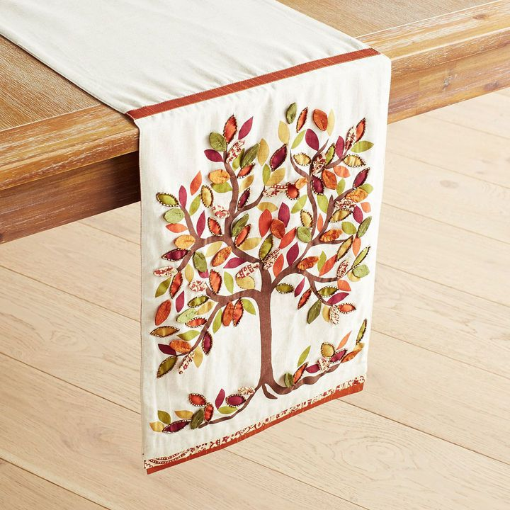 Pier 1 Imports Fall Tree Table Runner Table Runners Tree Table