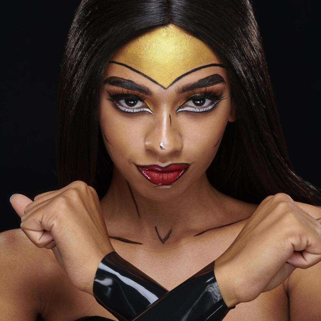 Wonder WomanInspired Halloween Look Halloween looks