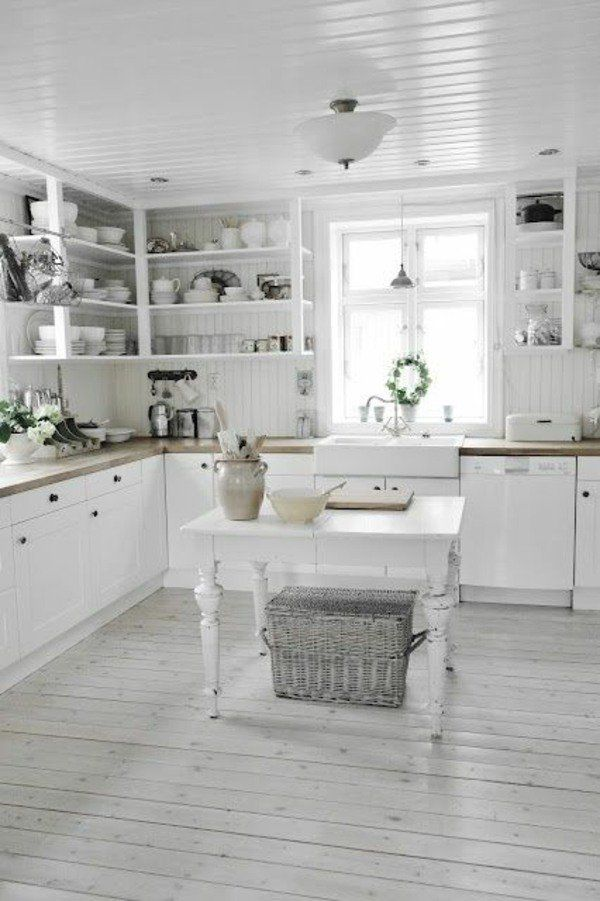 concevoir une d coration de cuisine campagnarde et l gante pinterest countertops kitchens. Black Bedroom Furniture Sets. Home Design Ideas