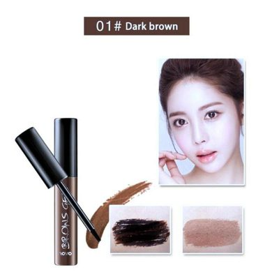 Peel Off Brown Black Eye Brow Tattoo Tint Waterproof Long