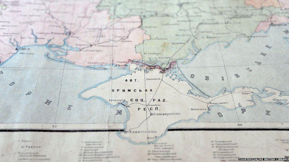 Russia Map After Ww2%0A Ukraine maps chart Crimea u    s troubled past