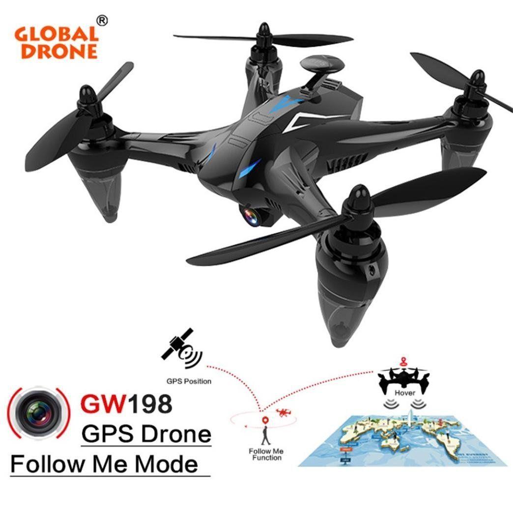Global Drone Gw198 Wideangle Hd Camera 5g Wifi Follow Me Ray