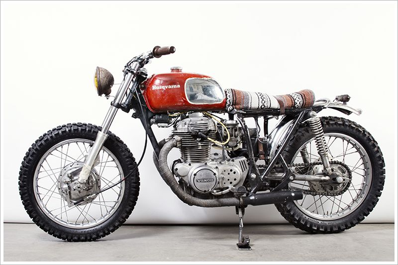 75 honda cb360t - 'cowboy | honda, cowboys and cafes