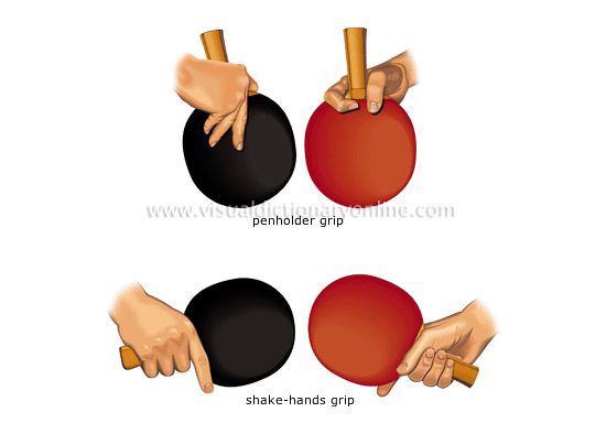 Different Table Tennis Grips Table Tennis Tennis Grips Tennis