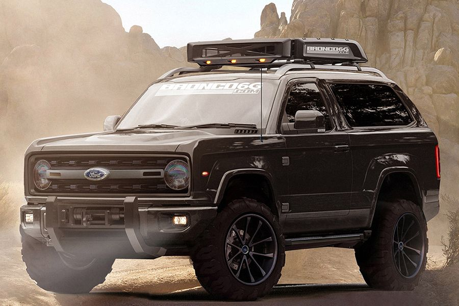 2020 Ford Bronco Concept Fuels More Excitement Ford Bronco Ford