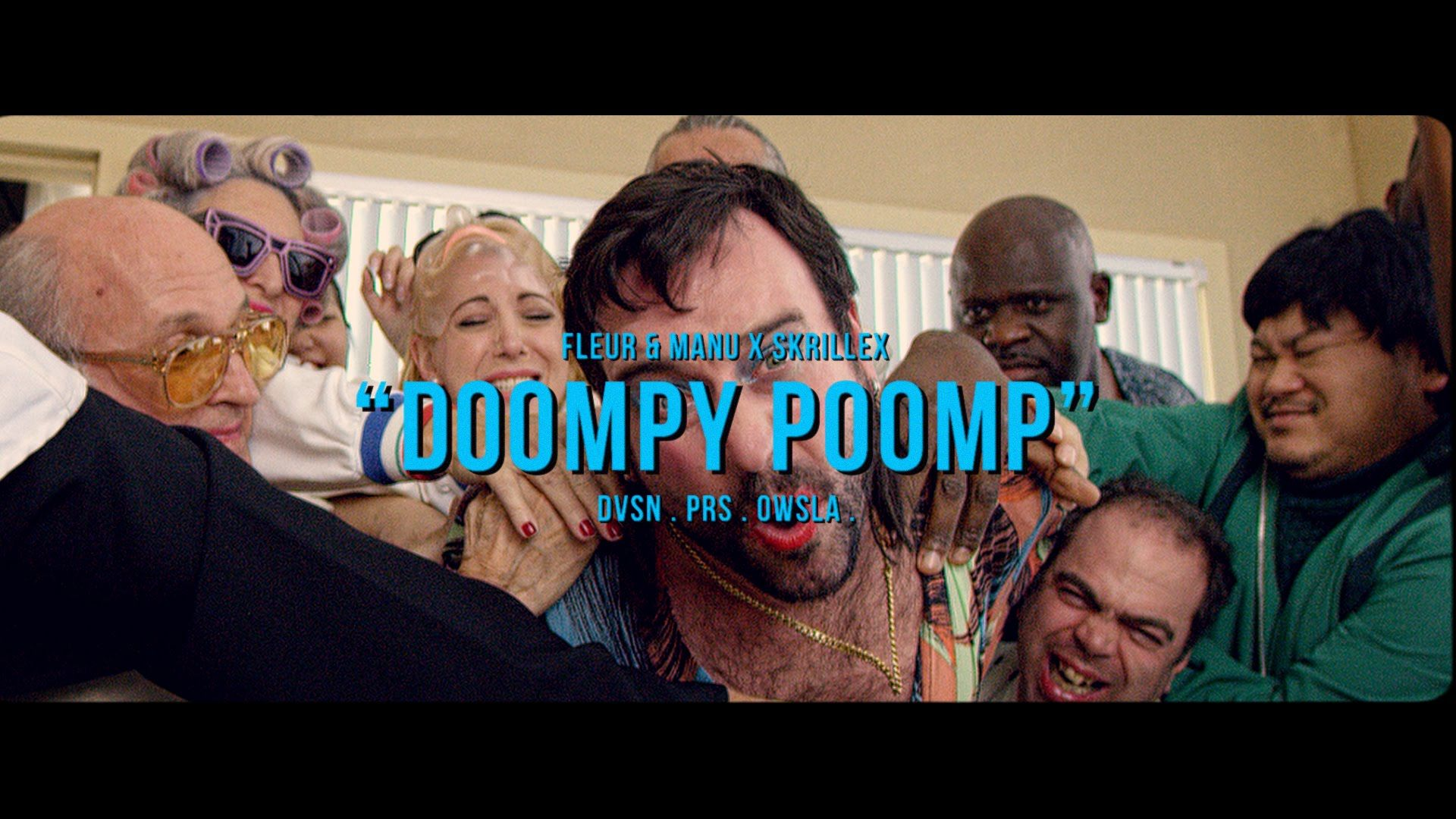 Skrillex - Doompy Poomp. Mais um caso de repetição temporal num esforço imenso e desastrado em agradar. (Another case of time repetition in a gigantic and fumbling effort to please people) (dir.: Fleur & Manu) (06/02)