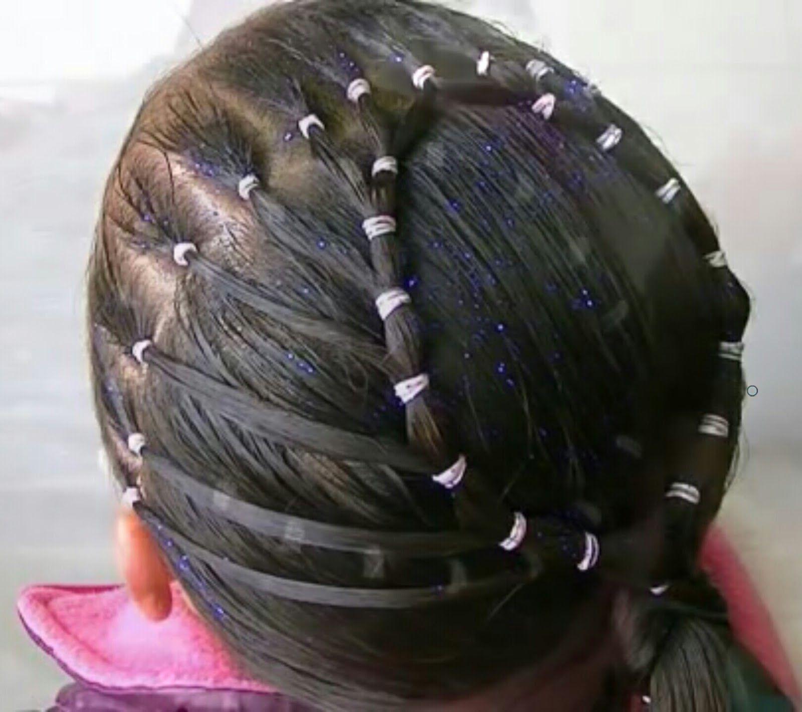 Coiffure De Petite Fille dedans 5 tutoriels coiffure de fête hyper faciles pour petite fille