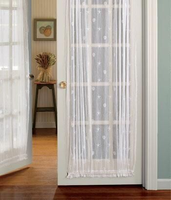 Charmant One Look At Our Seaside Lace Curtains Will Have You Longing For Salt Air  And The Seashore.(Seaside Lace Door Panel)
