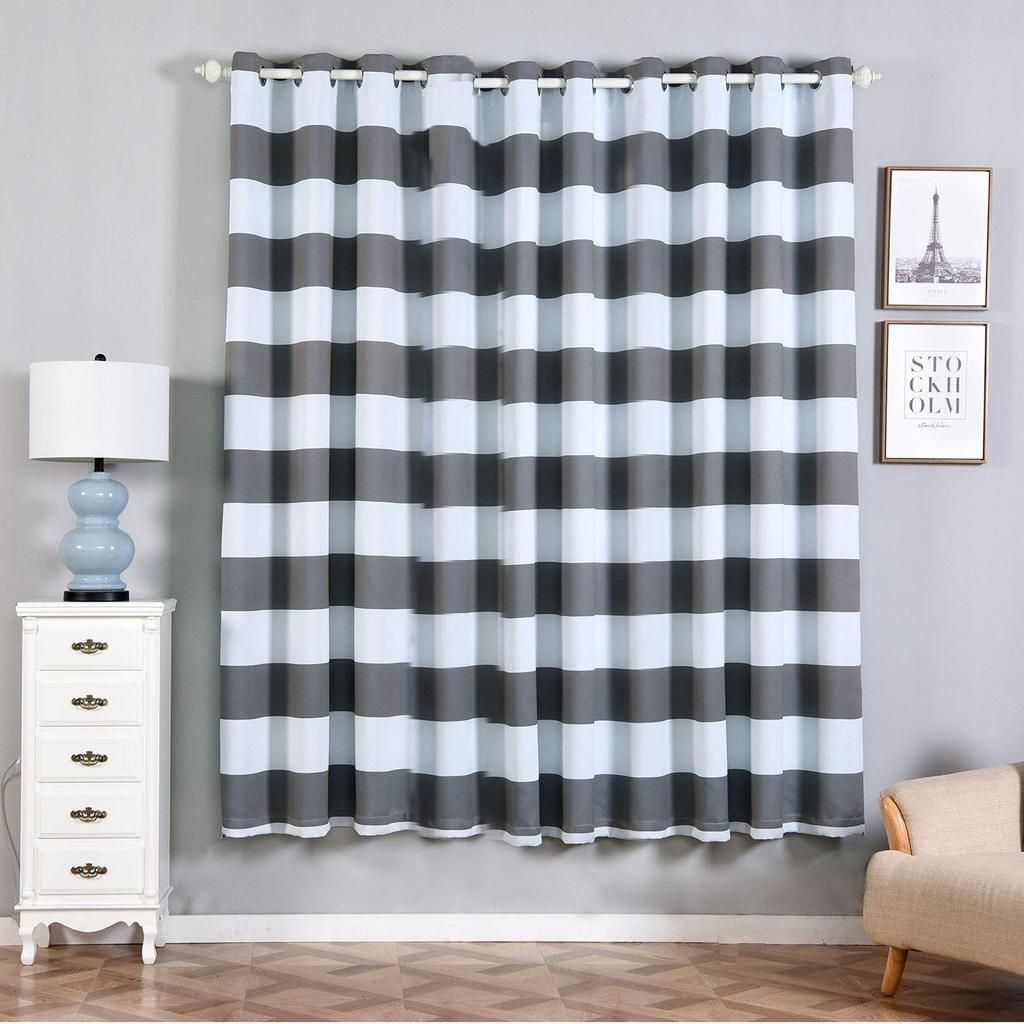 If You Are Looking To Make Your Decor Less Formal Feel Free To Checkout Ou Grommet Window Treatments Grey Blackout Curtains Thermal Insulated Blackout Curtains