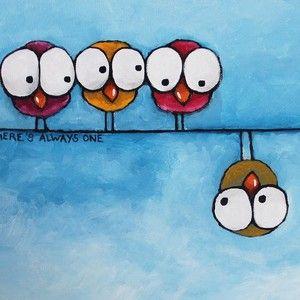 Hungry Eyes by Lucia Stewart #selbstgemachteleinwandkunst
