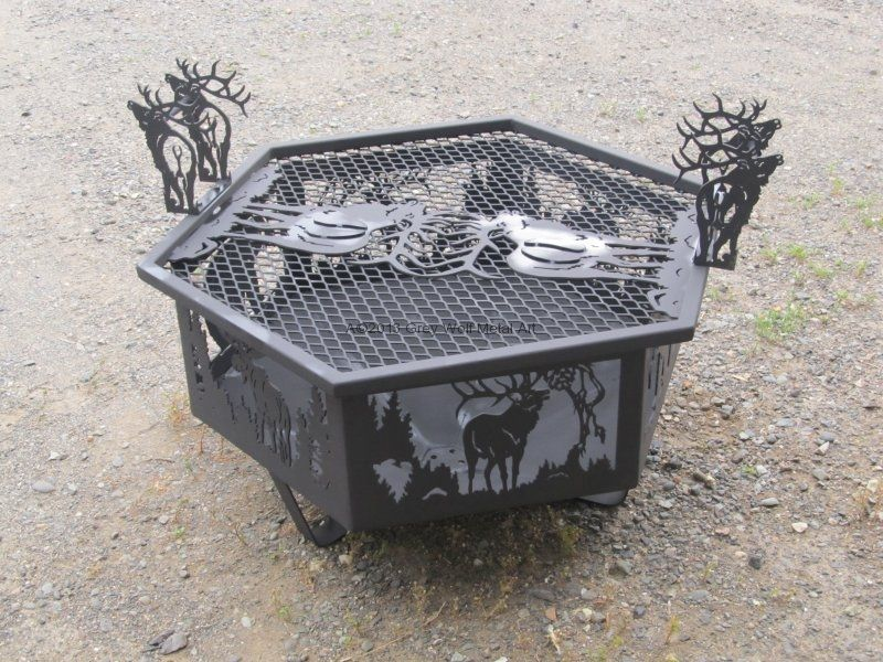 Fire Pits Grey Wolf Metal Art Metal Fire Pits Gorgeous Metal