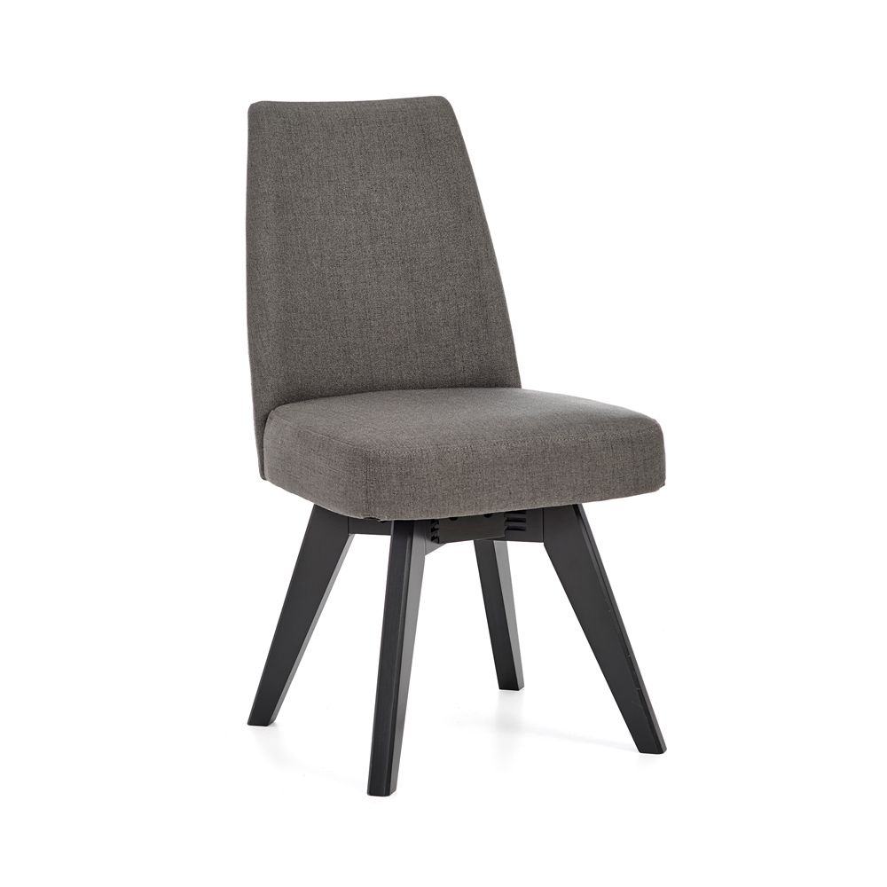 Set Of 2 Maddox Swivel Dining Chair Graphite Swivel Dining Chairs Dining Chairs Chair