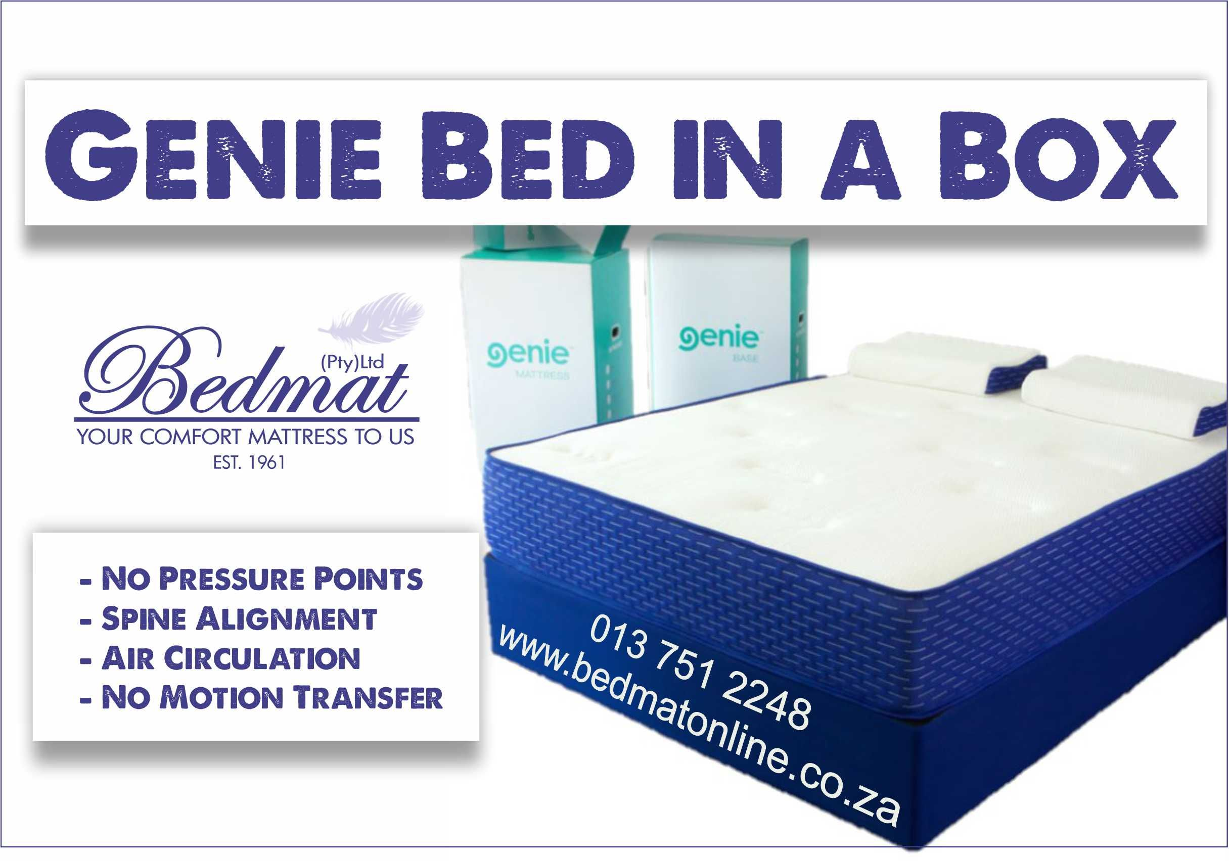 Bedmat Online White River South Africa Box Bed Pressure Points Comfort Mattress