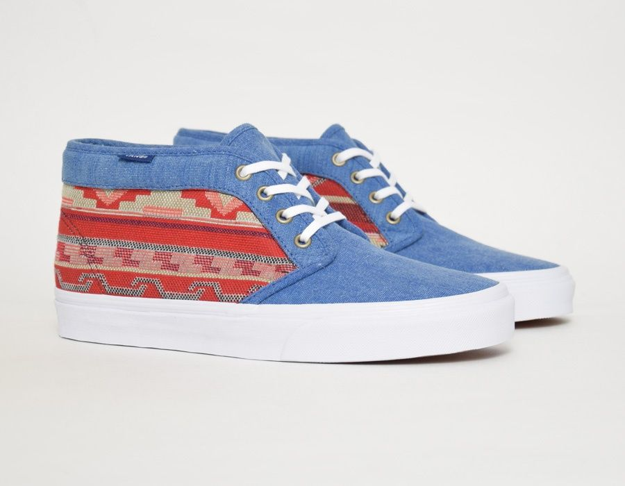 684e8b783c99ca Vans Chukka 79 Vintage Inca Blue  sneakers