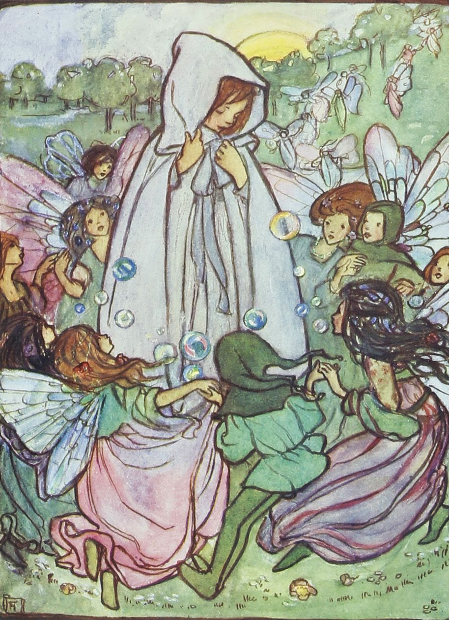 In The Fairy Ring, Florence Harrison, 1908