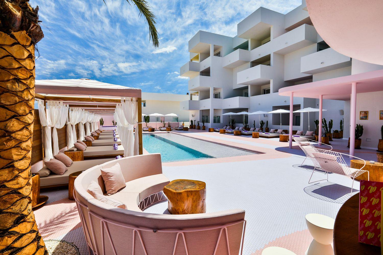 Gallery Of Art Hotel Paradiso Ibiza Ilmiodesign 3 Hotel Ibiza Hotel Interior Design Hotel Concept