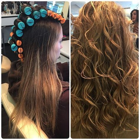 Our Client Is Summer Ready With This Beautiful Beachy Waves Perm With Olaplex Long Hair Perm Hair Styles Long Hair Styles