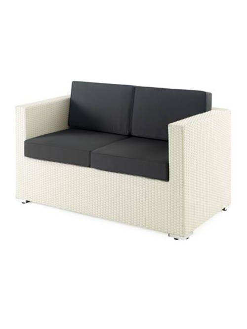 Sof spacio dos plazas estructura aluminio exterior for Sofa exterior dos plazas