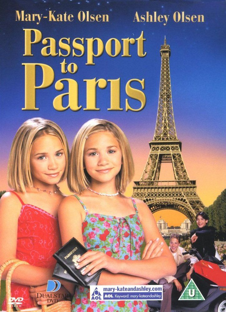 Passport to Paris, 1999. Watched this about 60 times probably...the French people were impressed with my phrases I learned from this movie.