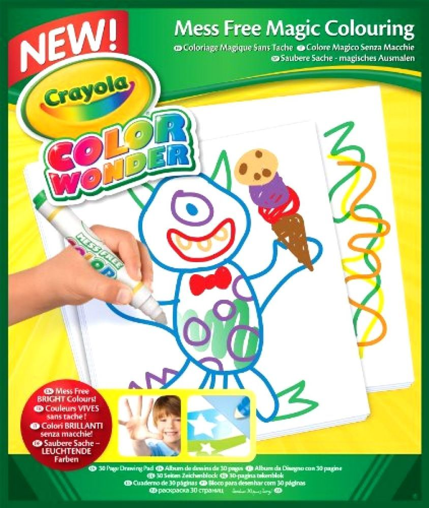 Crayola Color Wonder Paper Kids Crafts Drawing Paper Drawing Pad ...