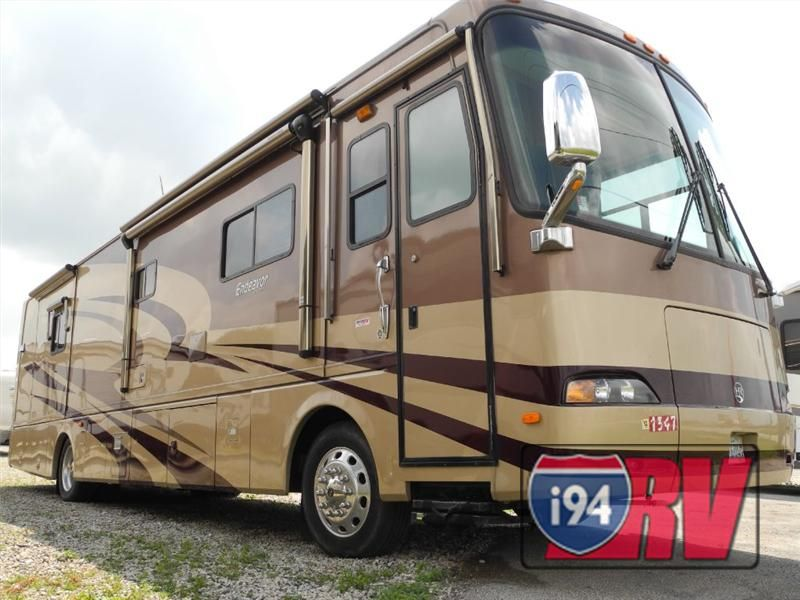 2005 holiday rambler endeavor 38pdq used diesel pusher class a motorhome for sale awesome rvs. Black Bedroom Furniture Sets. Home Design Ideas