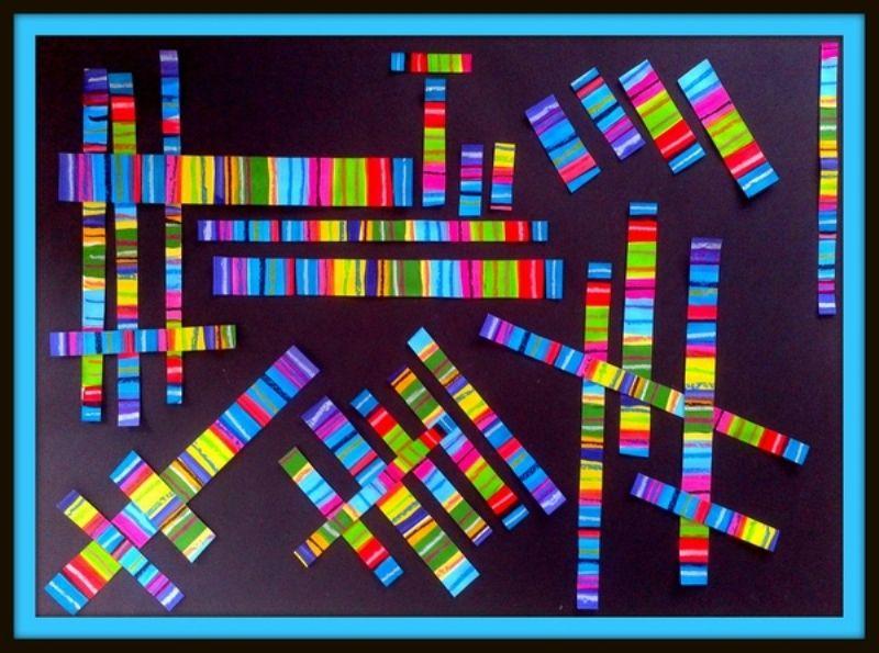 Jeux De Lignes V H O Le Tour De Mes Idées Scissor Practice Art