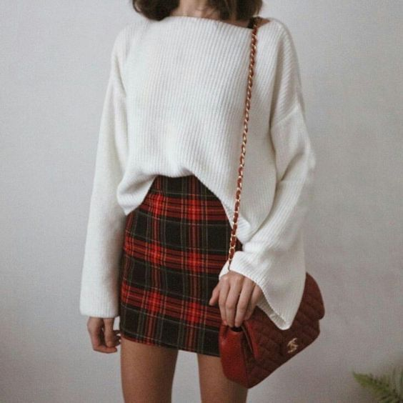 Bow Sweater With V Neck
