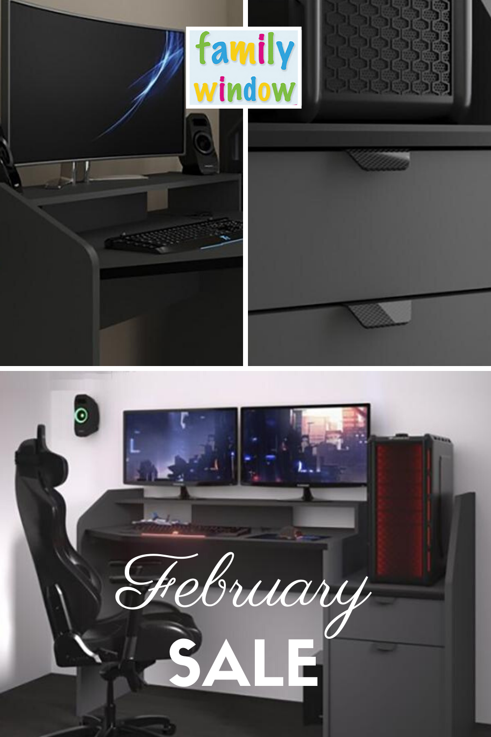 Parisot Midi Gaming Desk Workstation in 2020 Work