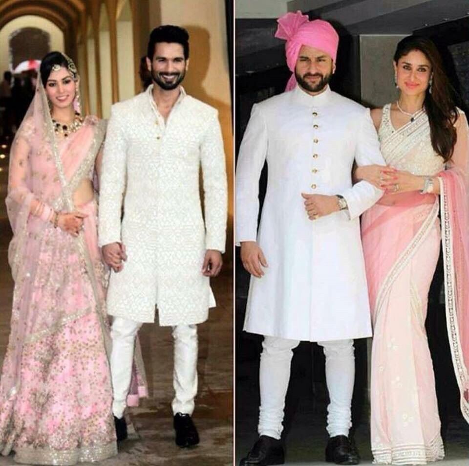 Desi Groom Wedding Sherwani Perfect For Pink And White Engagement Ceremony