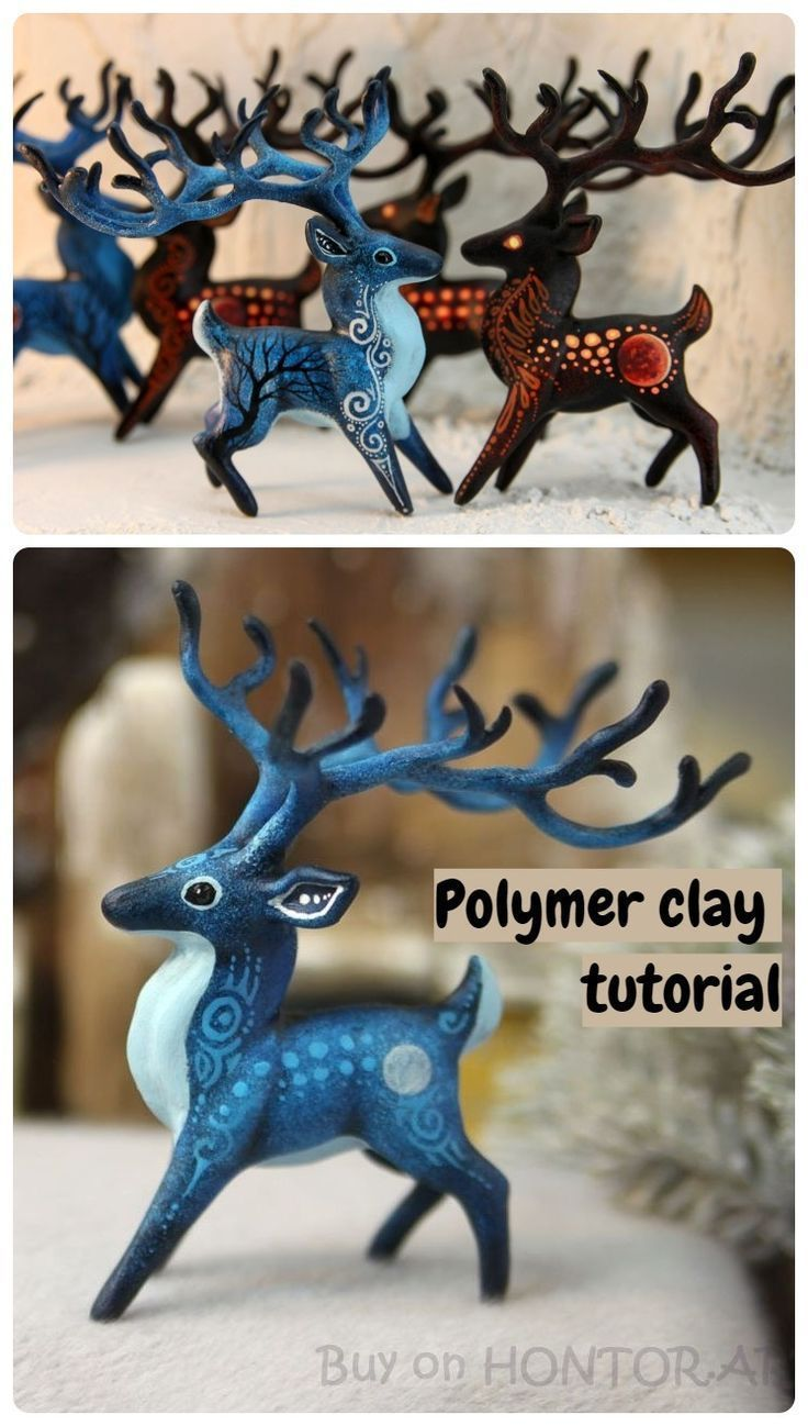 Polymer Clay Projekte von Evgeny Hontor Fantasy Polymer Clay Tierfiguren Scul……