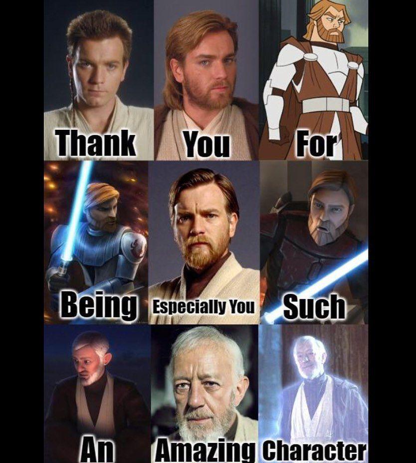 235 Likes 2 Comments Obi Wan Kenobi Obi Wan Kenobi On Instagram Which Is Your Favourite Version Star Wars Facts Star Wars Obi Wan Star Wars Humor