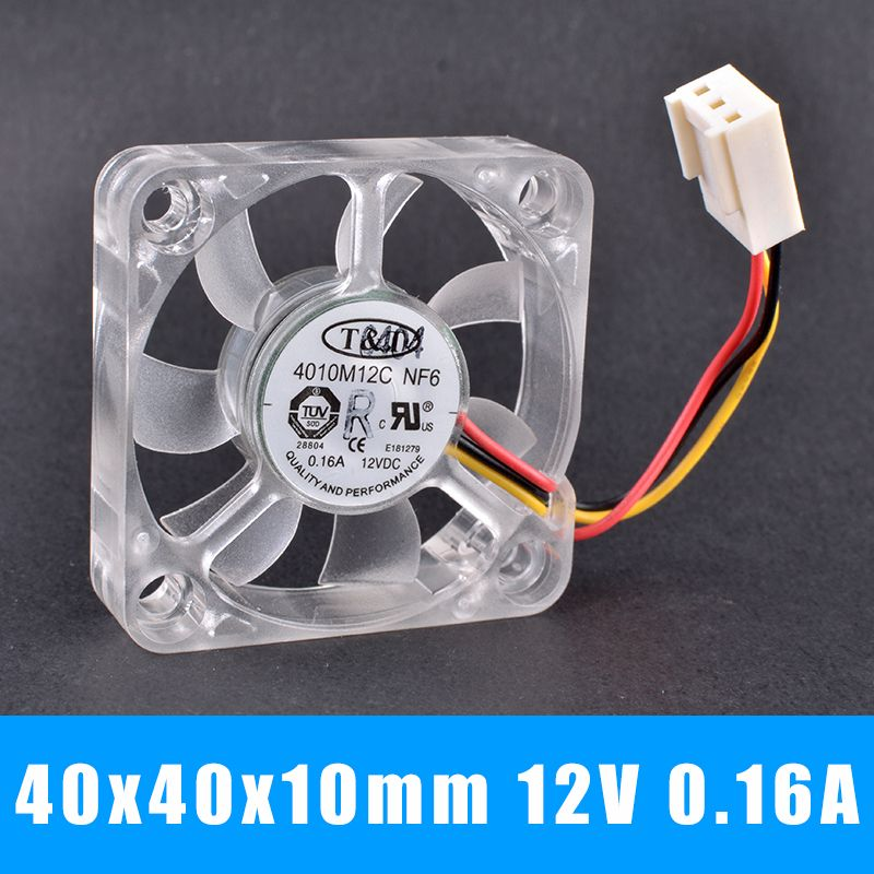 T T 4010m12c Nf6 12v 0 16a Ball Bearing North And South Bridge Cooling Fan Cooling Fan Fan Htpc