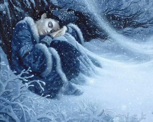 Winter napping? By Ruth Sanderson