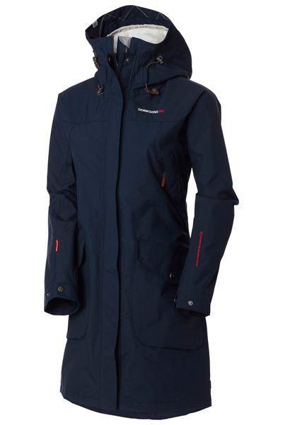 34443354940771 Didriksons Thelma Ladies Coat Navy | Mode | Coat, Coats for women ...