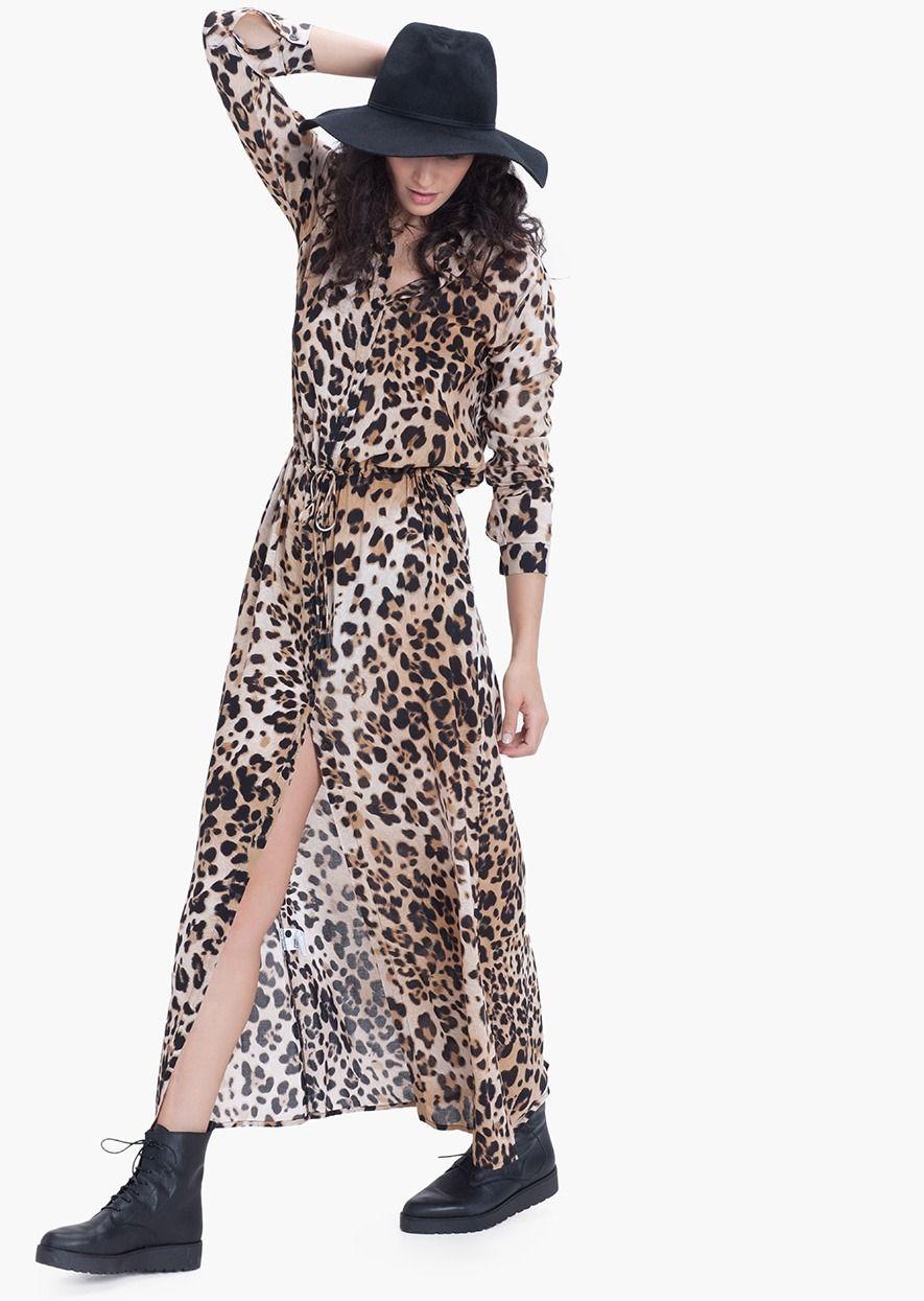 Vestido largo casual WUNILA único Etxart & Panno - tienda online oficial