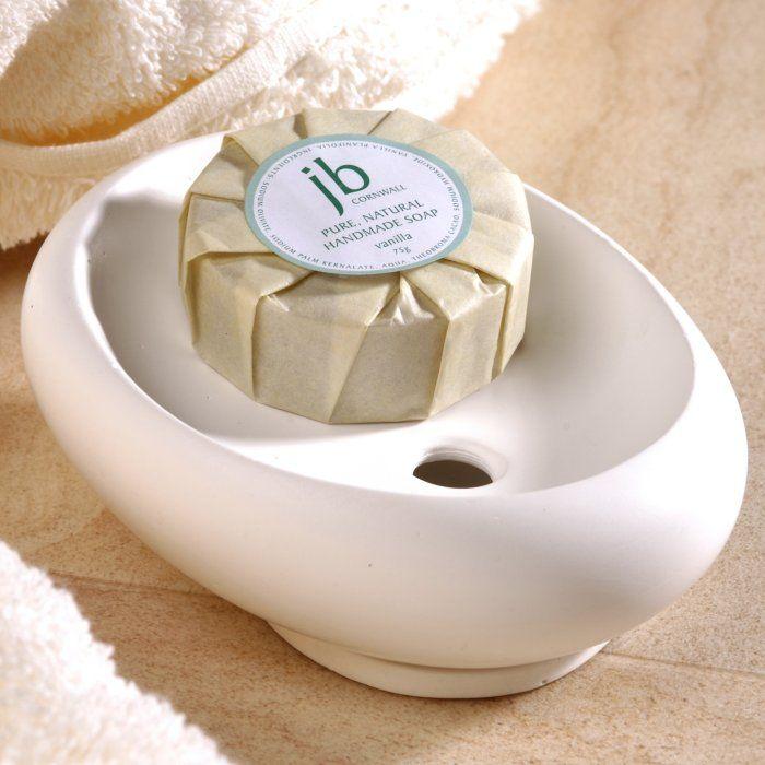 Pebble soap dish