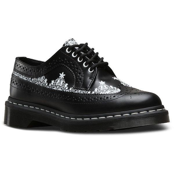 Dr. Martens 3989 Wingtip Lace-Up Shoe uPQ587