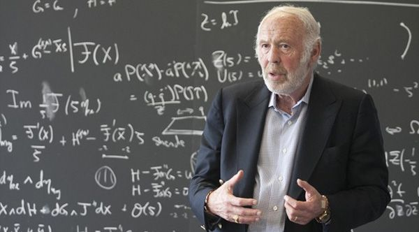 Simons, a renowned mathematician and founder of hedge fund