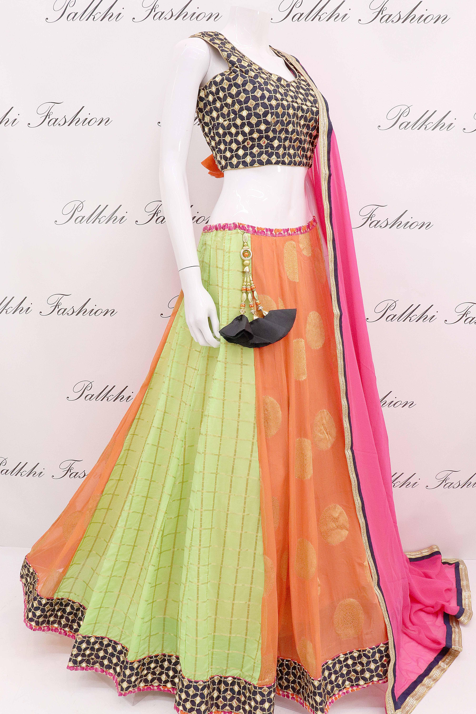 aea53931ad Pure Georgette Full Flair Chaniya Choli With Beautiful Color Combination