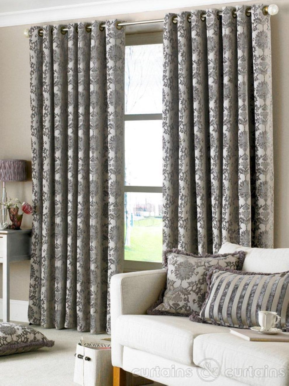 70 Cool Luxury Curtains For Living Room With Modern Touch Roundecor Decor Home Living Room Grey Curtains Living Room Fancy Living Rooms Wall curtains for living room