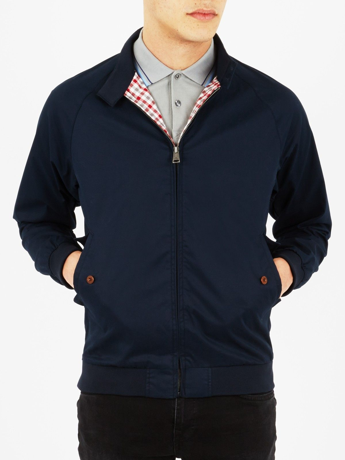 harrington jacket navy blazer ben sherman men 39 s clothing pinterest harrington jacket. Black Bedroom Furniture Sets. Home Design Ideas