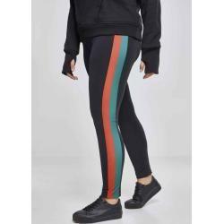 Urban Classics Damen Leggings Sporthose Fitness Ladies Side Stripetb1896 nvy/red... #Classics #Damen...