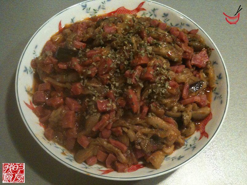 Aubergines la sauce piquante recette chinoise recette aubergines cuisine chinoise cuisine - Cuisine chinoise recette ...