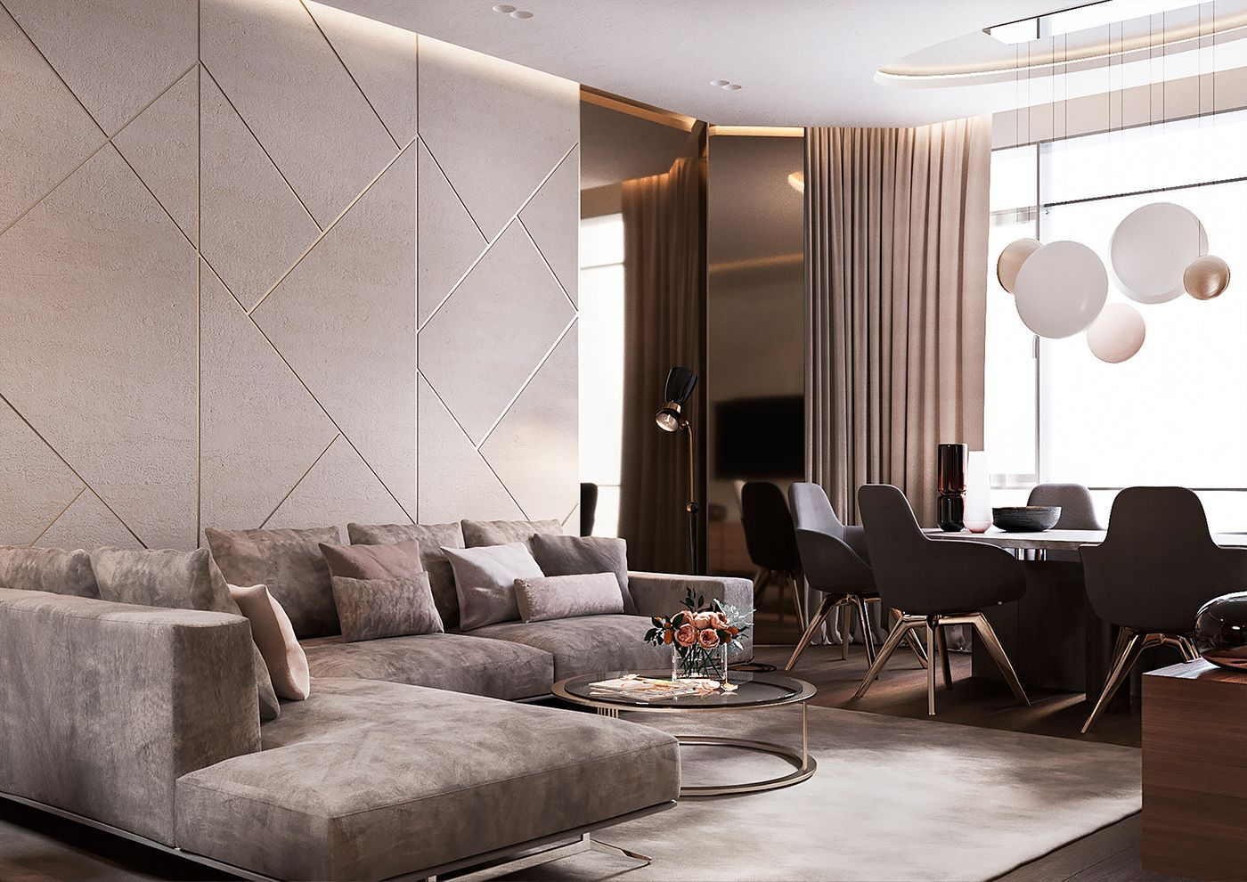 Luxury Apartment Interior Design Ideas With The Right Concept