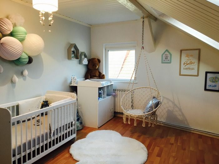 idée décor de chambre garçon | Baby | Baby, Cribs und Furniture