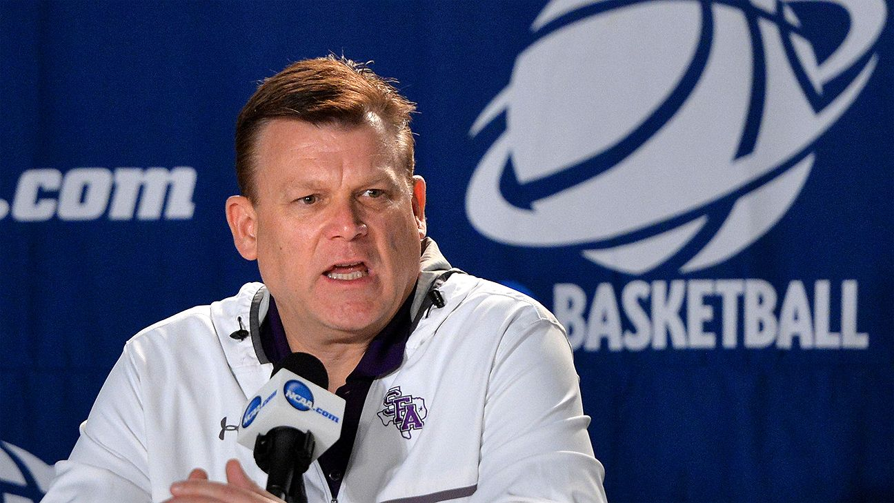 Oklahoma State hires Underwood from SFA Oklahoma state